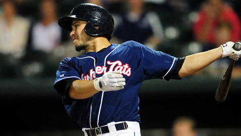 Travis d'Arnaud posted a .914 OPS in 114 games for New Hampshire.