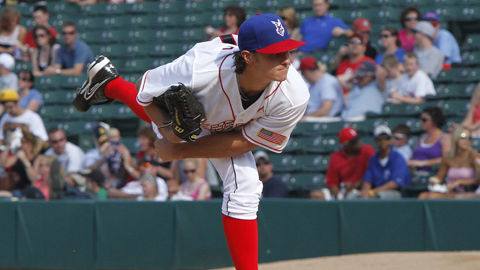 Jeff Locke is sixth in the International League in strikeouts and seventh in ERA.