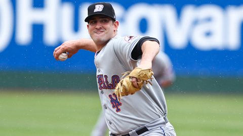 Matt Harvey made his Mets debut Thursday after spending the season with Buffalo.