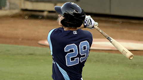 Marc Krauss went deep five times in his first five games with Corpus Christi.
