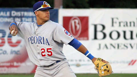 Shortstop Javier Baez was the ninth overall selection in the 2011 Draft.