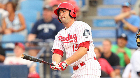 Darin Ruf has 11 homers and 16 RBIs in 15 games in August.